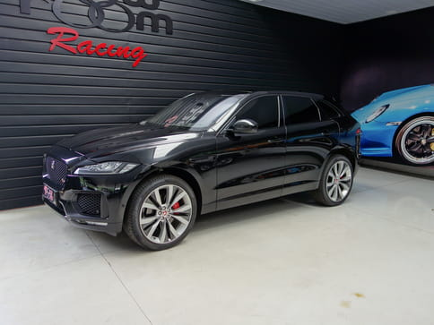 2018 jaguar f-pace 3.0 v6 supercharged s awd 4p automatico