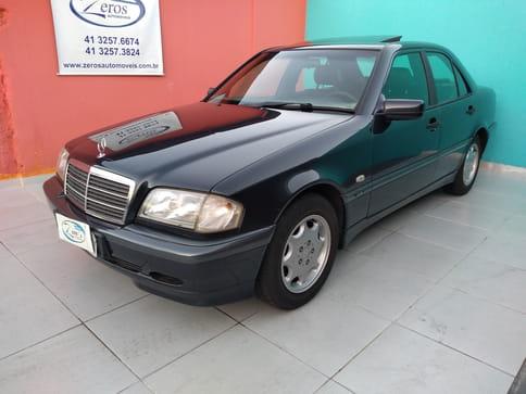 1999 mercedes-benz c 180 classic 1.8 4p