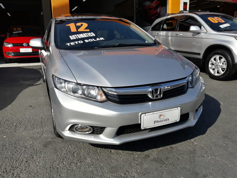 HONDA CIVIC SEDAN EXS-AT 1.8 16v(Tiptronic) 4p