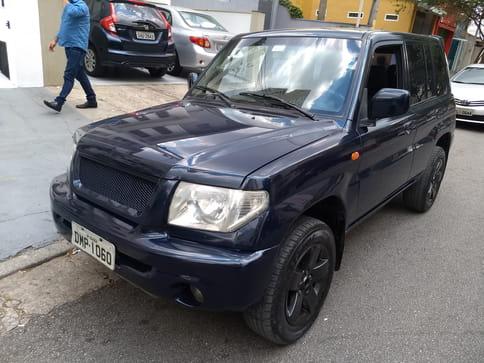 2004 mitsubishi pajero tr4 4x4 2.0 16v aut.