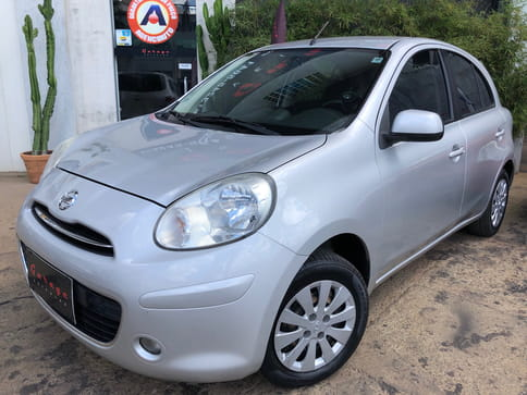 2014 nissan march s 1.6 16v 5p