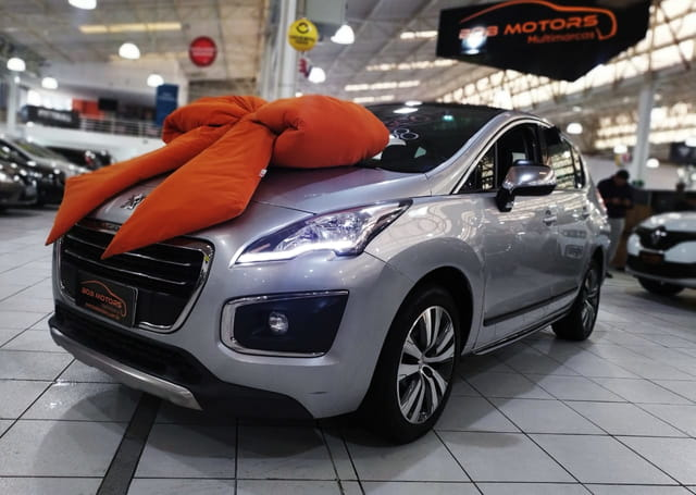 peugeot 3008 griffe 1.6 turbo 2015