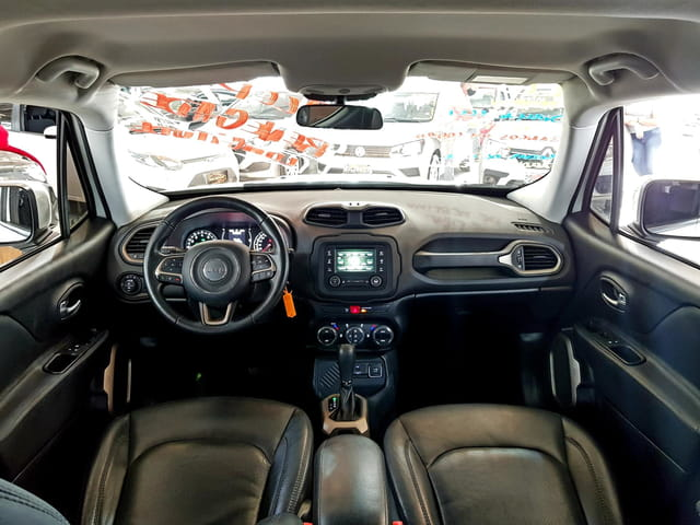 jeep renegade longitude 1.8 flex automatico