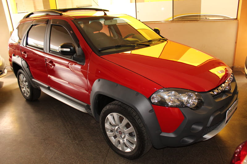 FIAT PALIO WEEKEND ADVENTURE 1.8 16V FLEX AUT.
