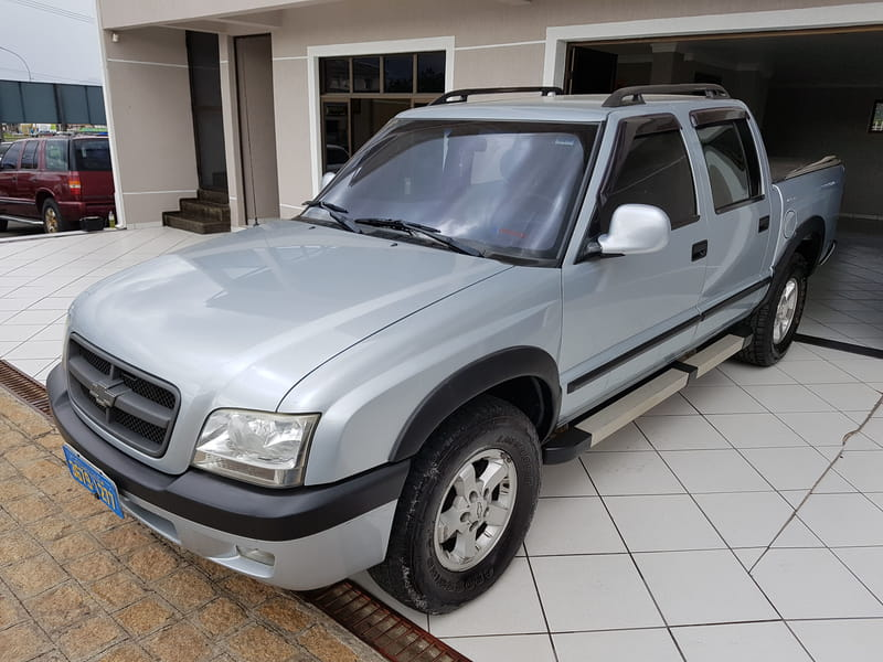 CHEVROLET S-10 ADVANTAGE (C.DUPLA) 4X2 2.4 8V (FLEX)