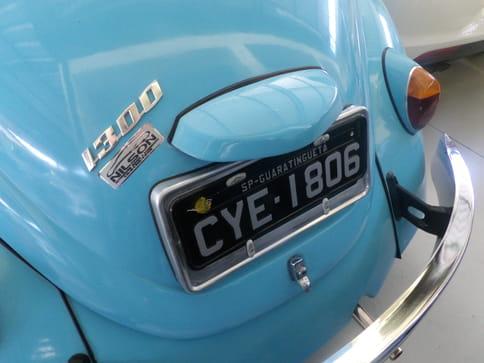 1974 volkswagen fusca 1300