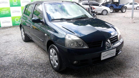 2008 renault clio authentique 1.0 16v 2p