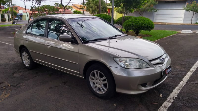 HONDA CIVIC SEDAN LX AT 1.7 16v