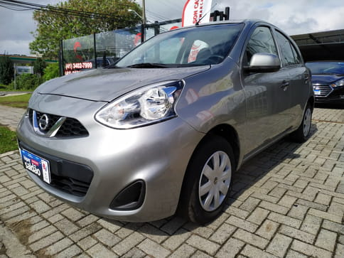 NISSAN MARCH S 1.0 12V FLEX MEC