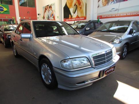 2000 mercedes-benz c 180 classic 1.8 4p