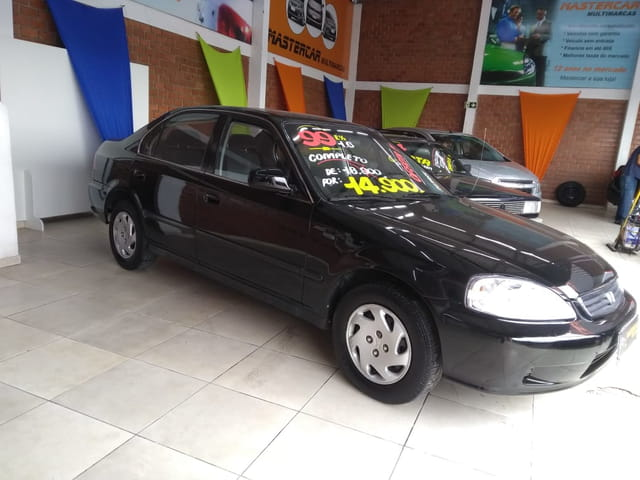 HONDA CIVIC SEDAN EX-MT 1.6 16v NAC.