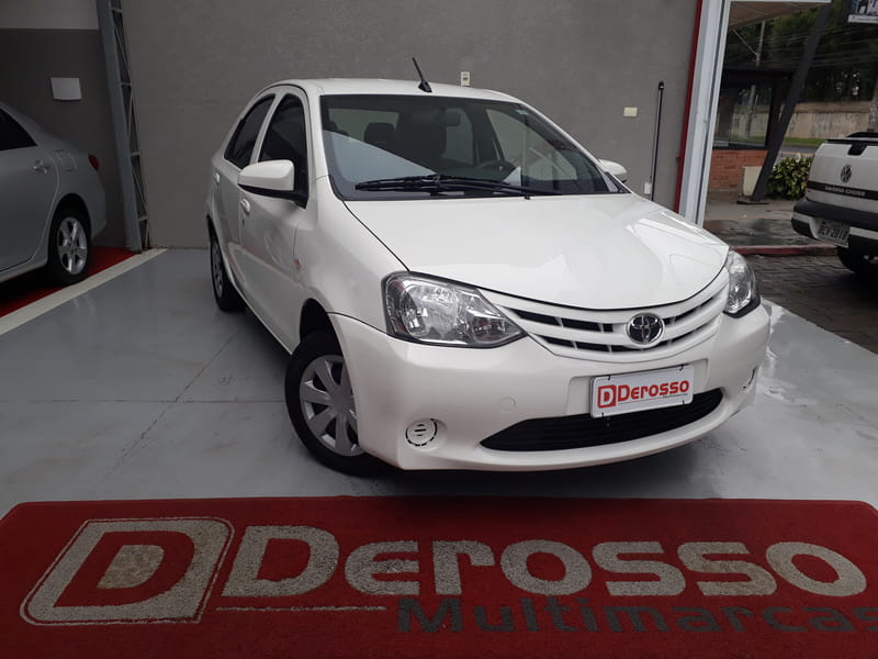 TOYOTA ETIOS SD X 15L AT
