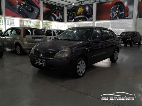 2005 renault clio sedan expression 1.0 16v 4p