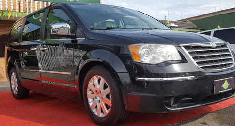 2008 chrysler town & country 3.6