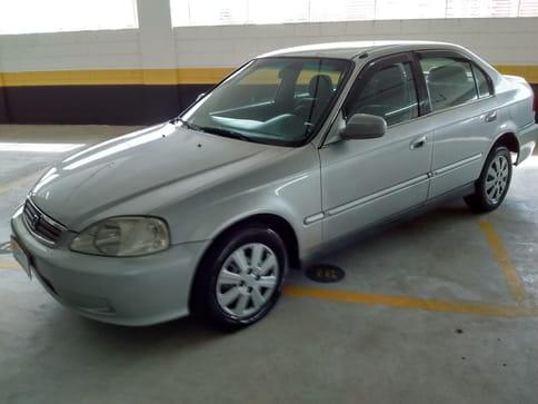 1999 honda civic sedan lx-at 1.6 16v 4p