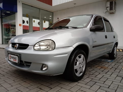 2008 chevrolet classic sedan life 1.0 vhc 8v 4p