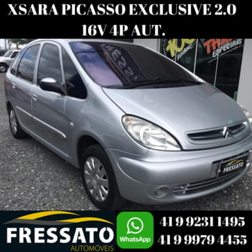 2005 citroen xsara picasso exclusive 2.0 16v 4p aut.