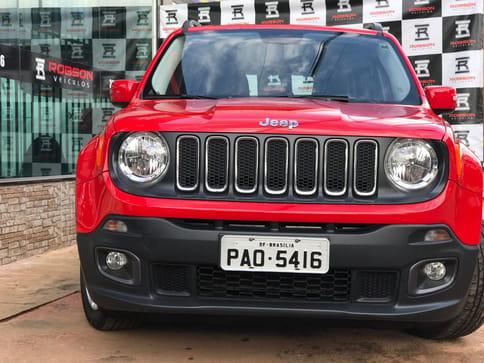 2016 jeep renegade longitude 1.8 flex automatico