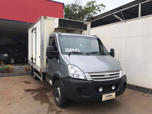 2012 iveco daily 35s14 chassi cabine turbo intercooler diesel 4p manual