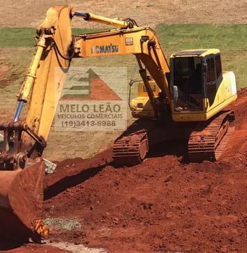 2007 komatsu escavadeira  pc 160