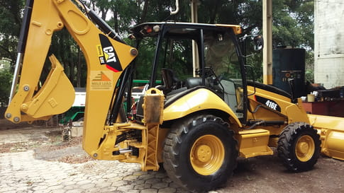 2013 caterpillar retroescavadeira 416e cat
