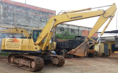 1998 komatsu escavadeira pc 150