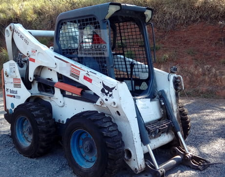 2012 bob cat mini pa carregadeira s750