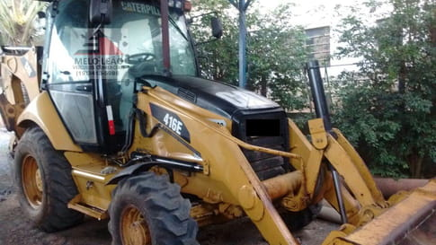 2010 caterpillar retroescavadeira 416e cat