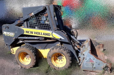 2008 new holland mini carregadeira l175
