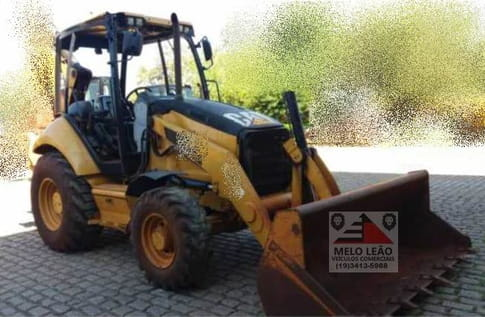 2011 caterpillar retroescavadeira 416e cat