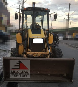 2011 new holland retroescavadeira b90 b