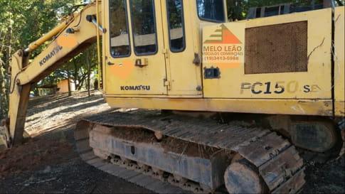1993 komatsu escavadeira pc 150