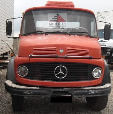 1976 mercedes-benz l-1513 4x2 2p