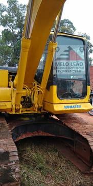 2008 komatsu escavadeira  pc 160