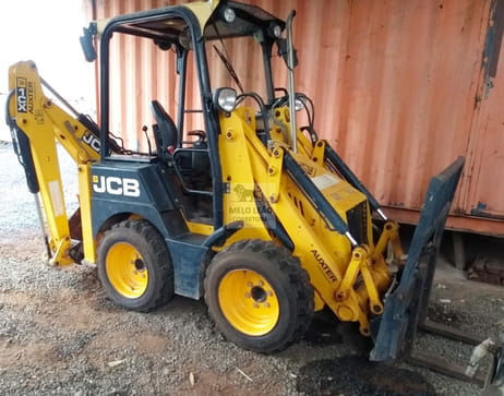 2012 jcb mini retroescavadeira  1cx