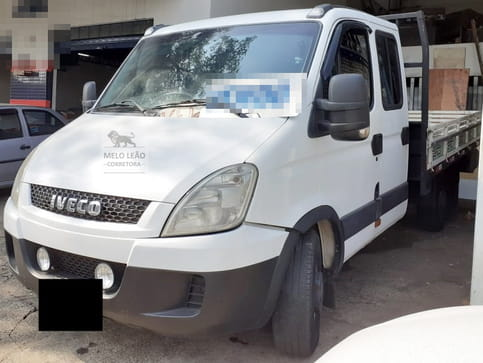 2013 iveco daily 35s14 chassi cabine turbo intercooler diesel 4p manual
