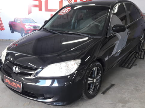 2005 honda civic sedan lx-at 1.7 16v basico
