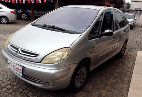 2002 citroen xsara picasso exclusive 2.0 16v  4p