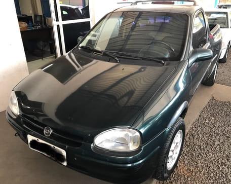 1998 chevrolet corsa pick-up gl 1.6 mpfi 2p