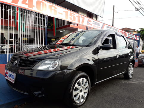 2009 renault logan sedan authentique 1.0 16v 4p