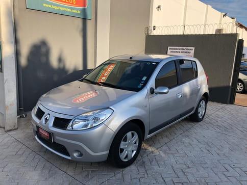 2009 renault sandero privilege hi-flex 1.6 16v 5p aut