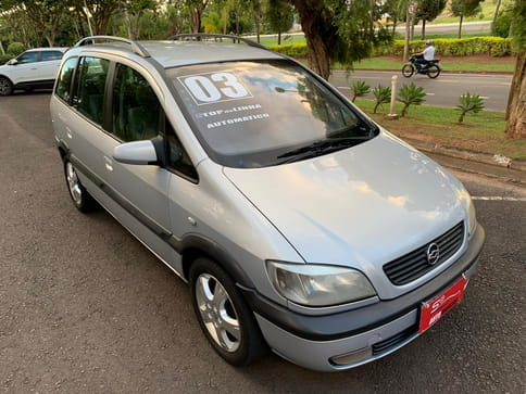 2003 chevrolet zafira cd 2.0 8v 4p