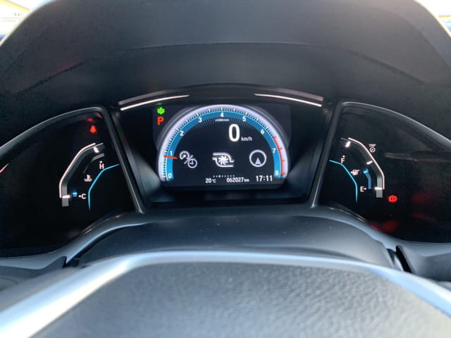 honda - civic touring cvt