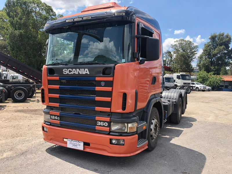 SCANIA R-124 GA 360 6x2 NZ 2P
