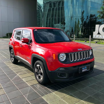 2016 jeep renegade sport 1.8 flex manual