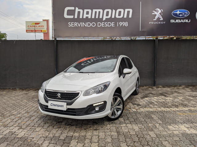 Image Peugeot 308 1.6 Griffe Thp 16v Gasolina 4p Automatico 2017