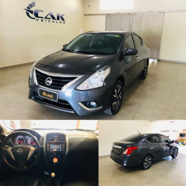 NISSAN VERSA 1.6 16V FLEX UNIQUE