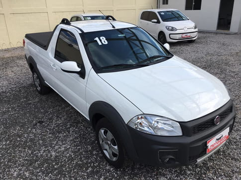 2018 fiat strada 1.4 mpi hard working cs 8v flex 2p manual