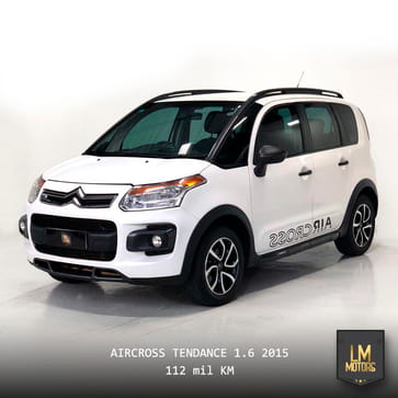 2015 citroen aircross tendance 1.6 flex mec.