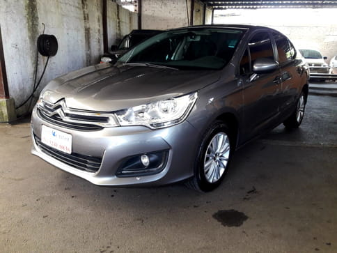 CITROEN C 4 LOUNGE ORIGINAL 1.6 TURBO FLEX AUT